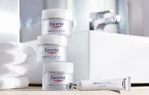 Range pack shot of Eucerin AQUAporinACTIVE